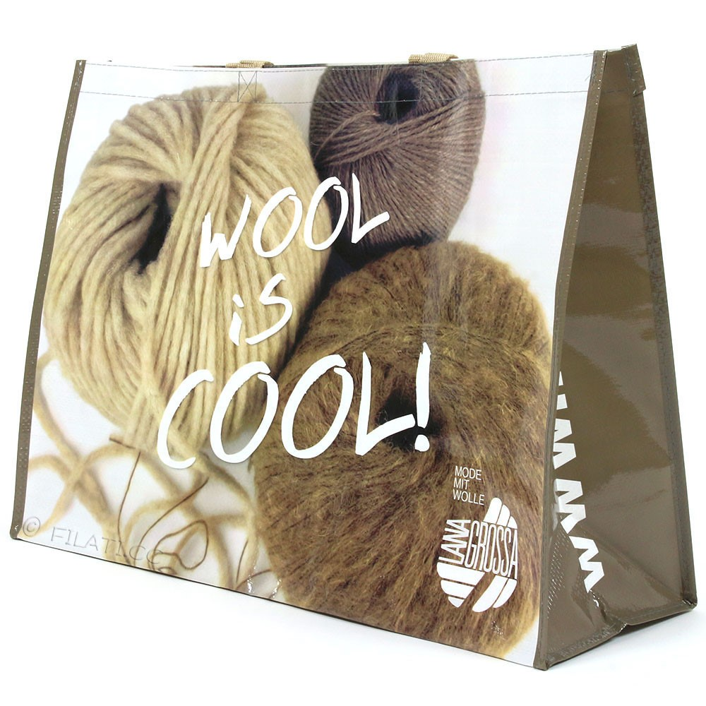 Lana Grossa Сумка для покупок WOOL IS COOL - 1