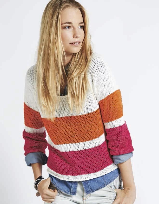 Lana Grossa Пуловер с рукавом реглан California