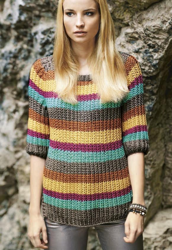 Lana Grossa Пуловер с рукавом реглан Cashsilk