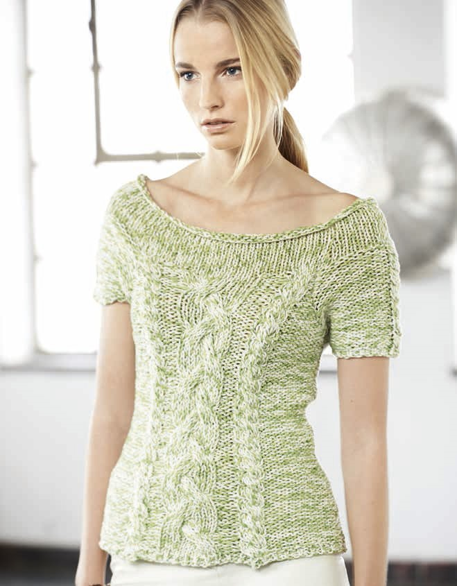 Lana Grossa Пуловер с рукавом реглан Organico/California