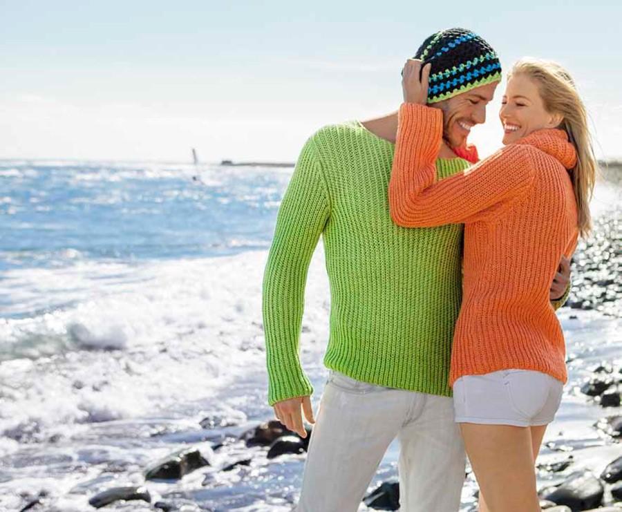 Lana Grossa Патентный пуловер Cotton Mix 130