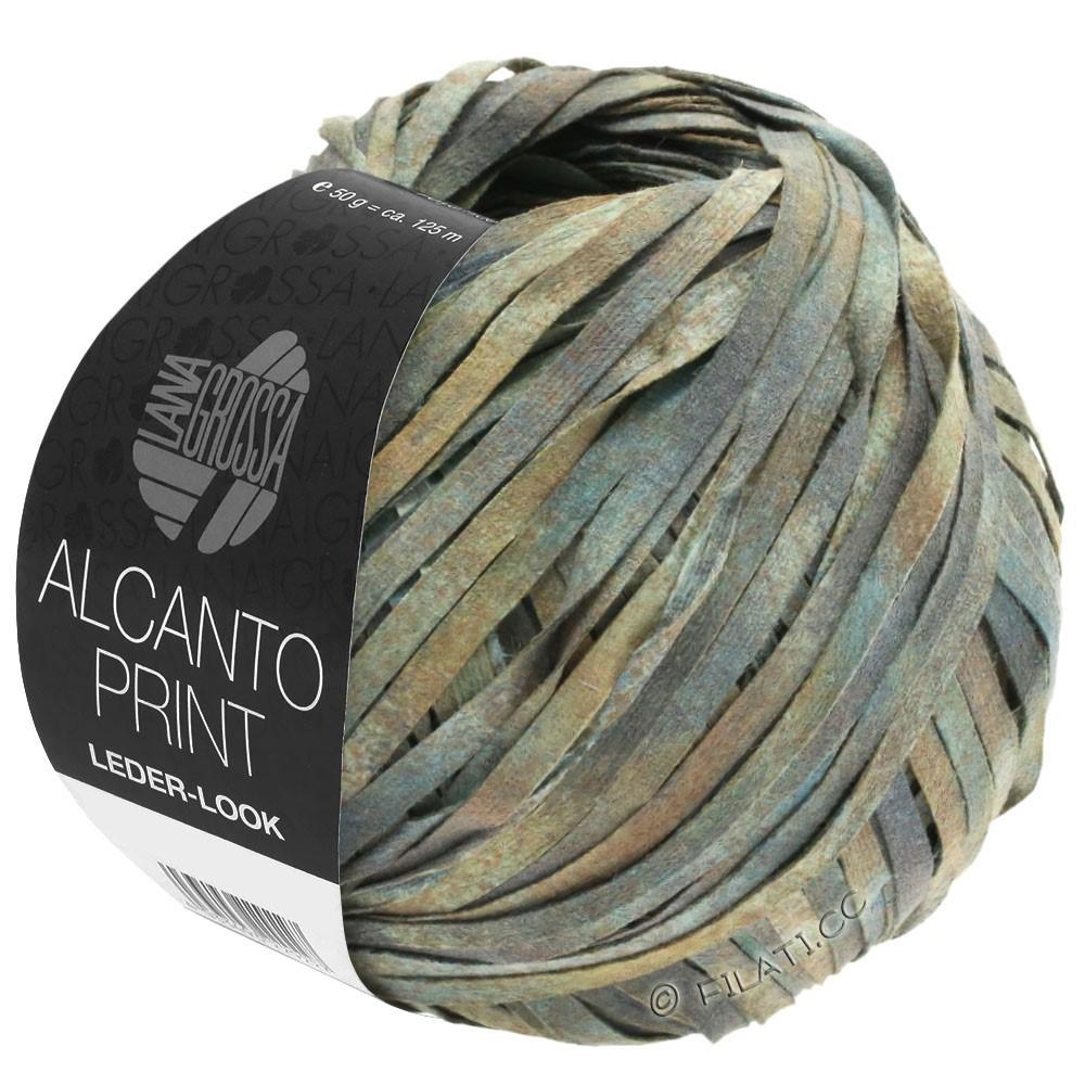 Lana Grossa ALCANTO Print | 102-серый/бежевый