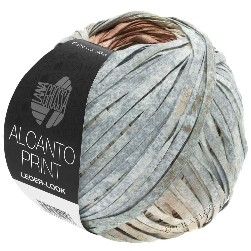 Lana Grossa ALCANTO Print | 201-кремово-розовый/натуральный