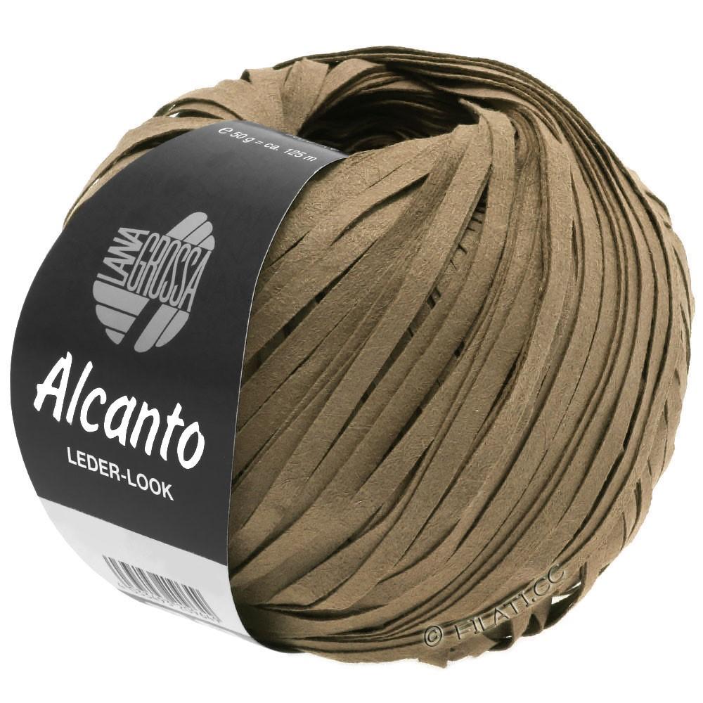 Lana Grossa ALCANTO | 08-коричневый песок
