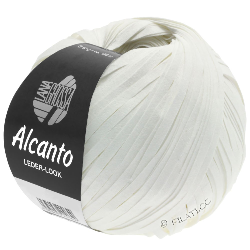 Lana Grossa ALCANTO | 12-белый