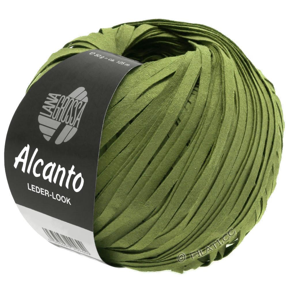 Lana Grossa ALCANTO | 17-оливково-зелёный