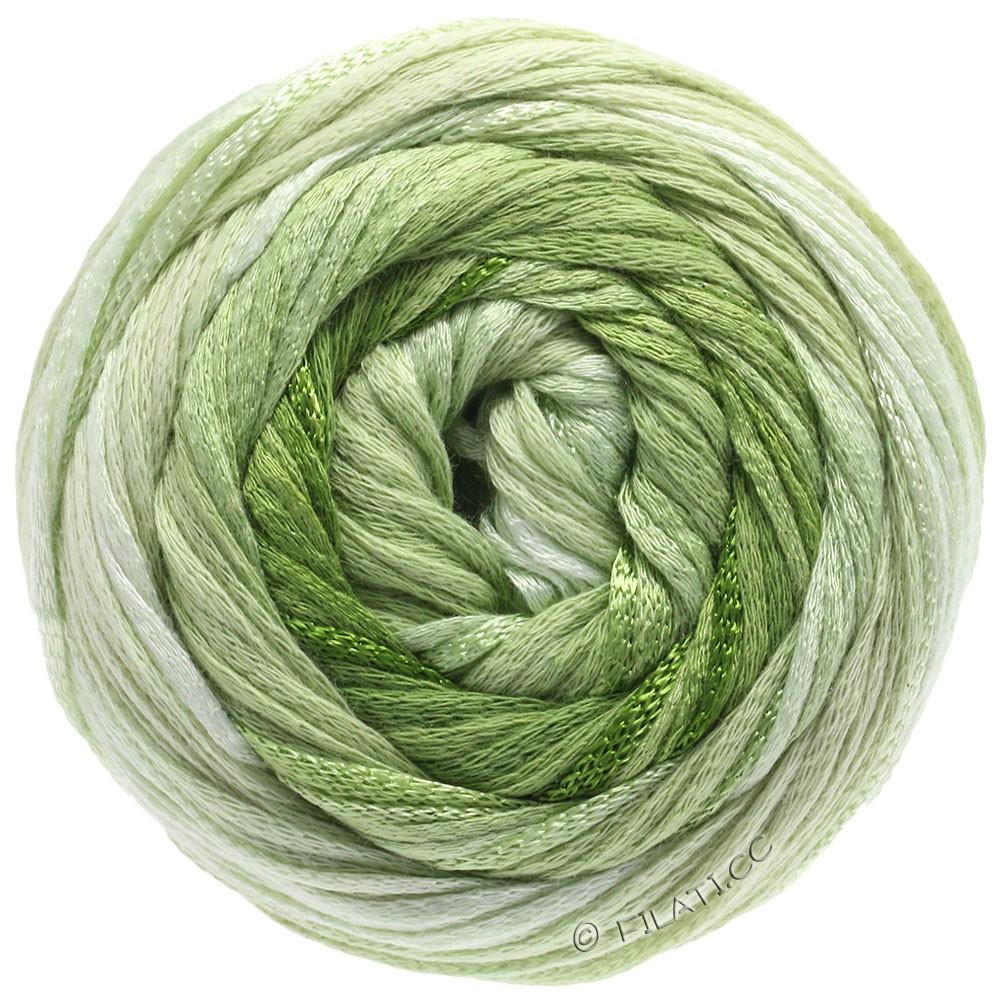 Lana Grossa ALLEGRO Degradé | 207-натуральный/мягко-зеленый/светло-зелёный/зеленый лист /оливково-зелёный