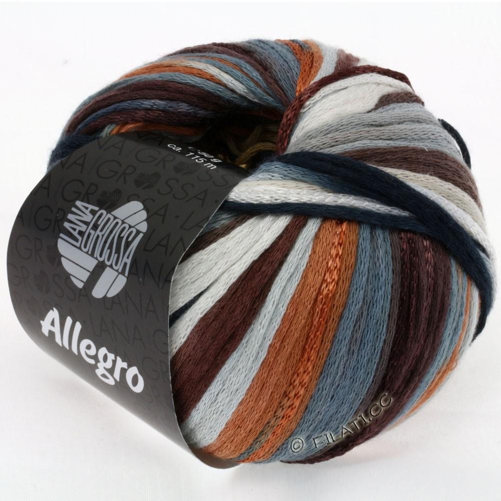 Lana Grossa ALLEGRO | 010-легко коричневый/тёмно-коричневый/цвет шифера/серебристо-серый/цвет ржавчины/натуральный
