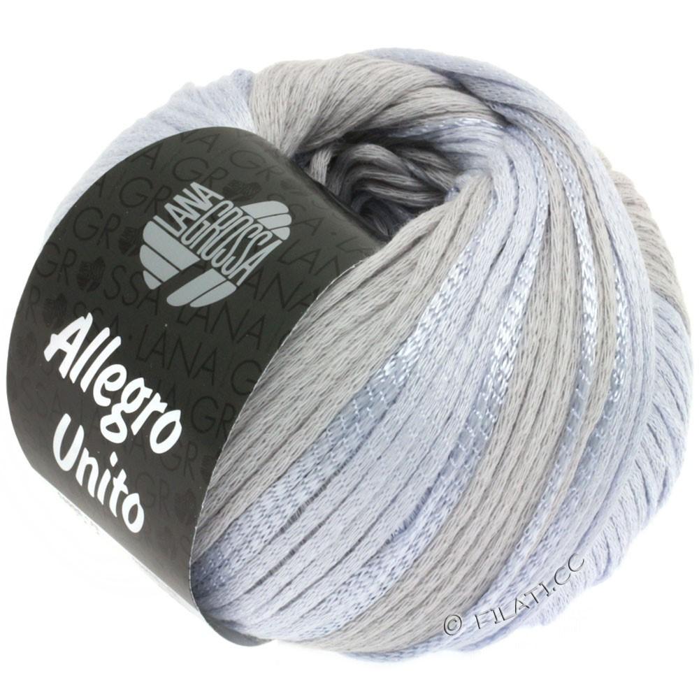 Lana Grossa ALLEGRO Unito | 104-серебристо-серый