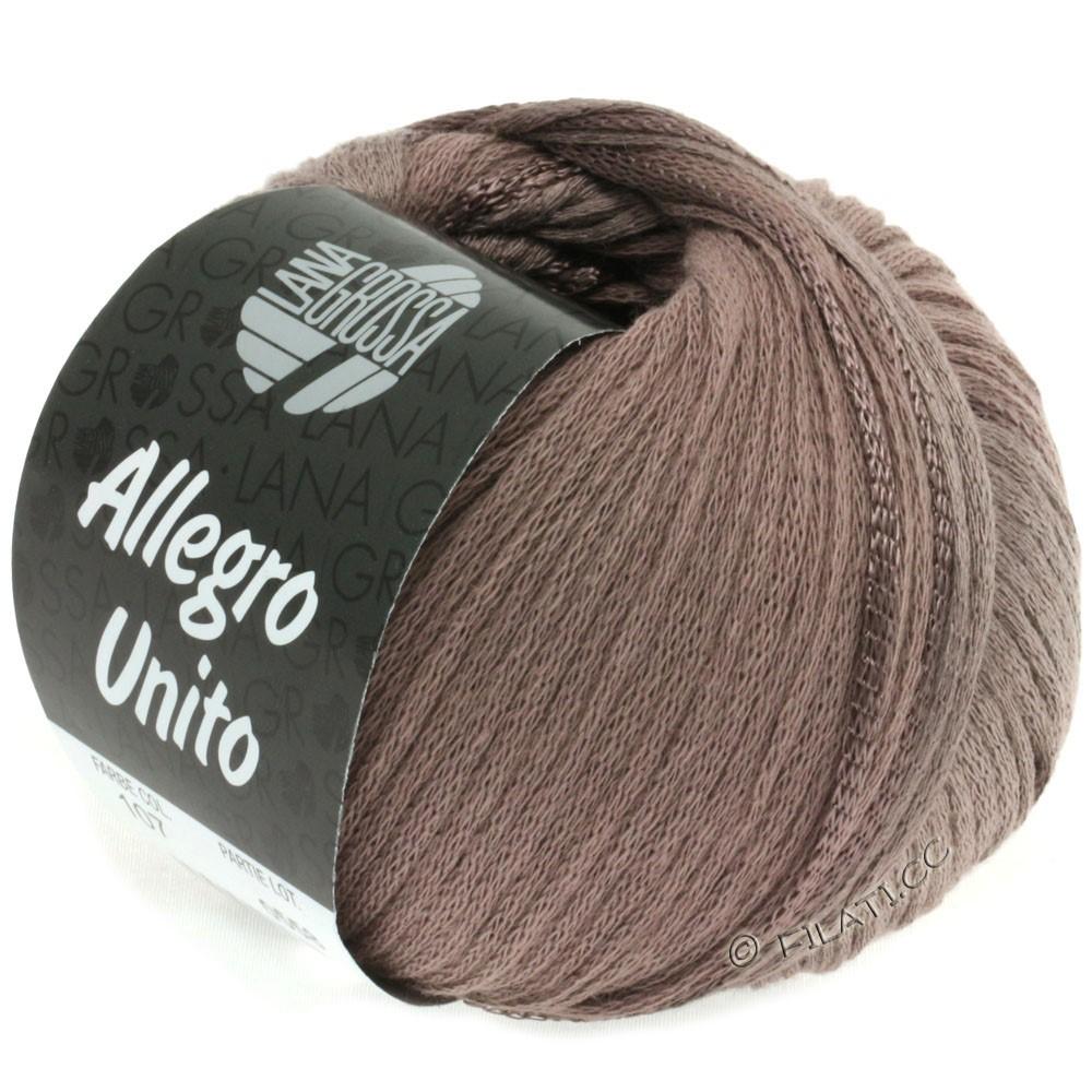 Lana Grossa ALLEGRO Unito | 107-серо-коричневый