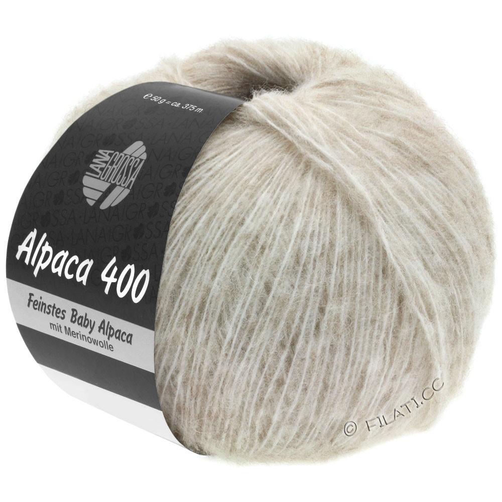 Lana Grossa ALPACA 400 | 02-светло-бежевый