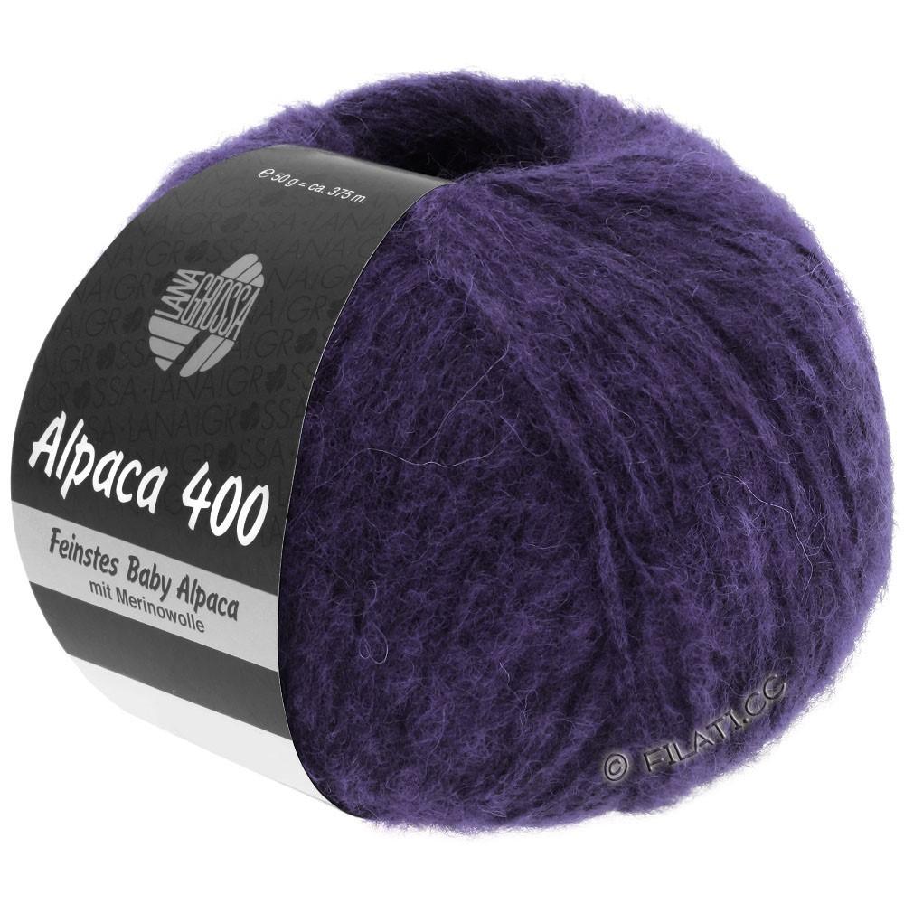 Lana Grossa ALPACA 400 | 05-фиолетовый