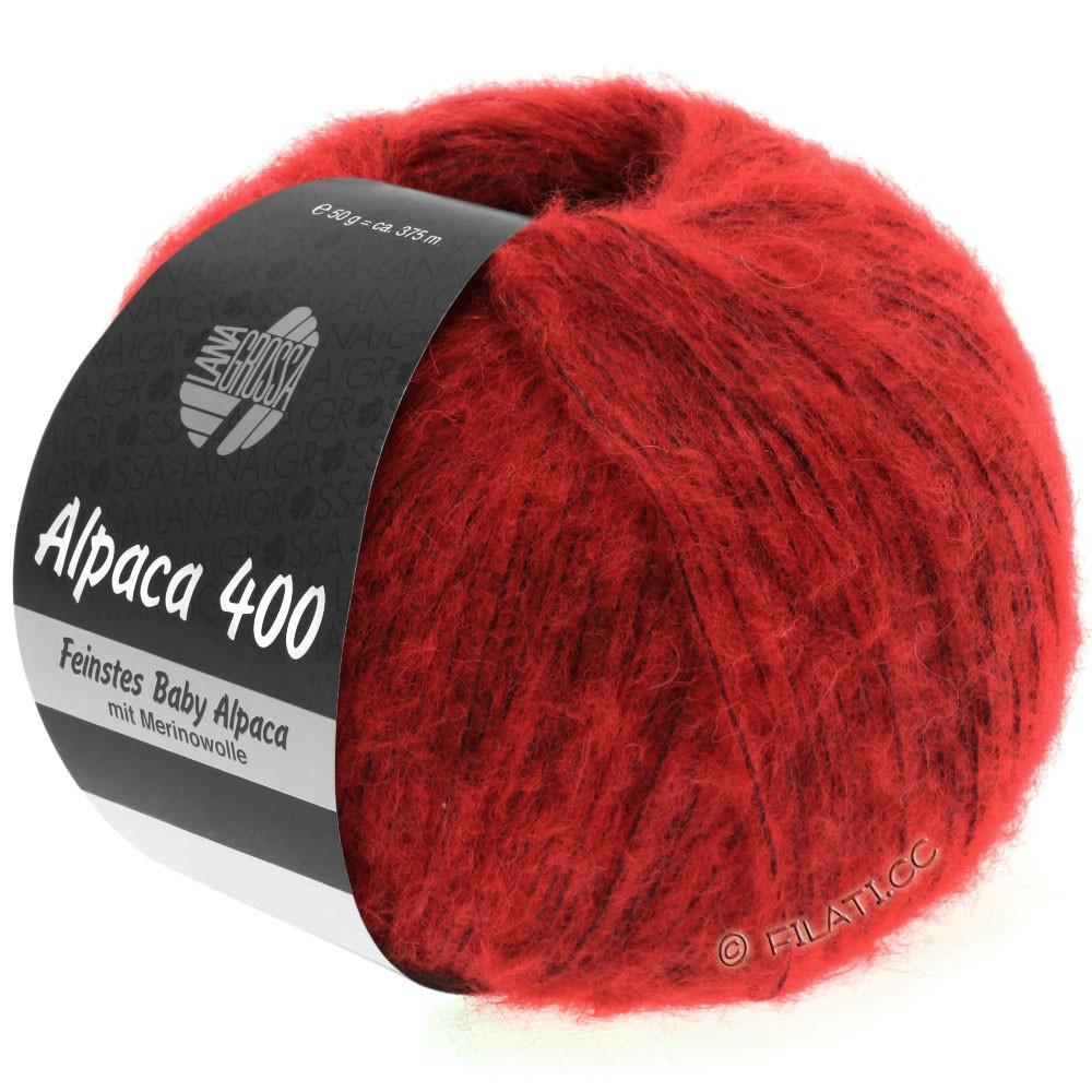 Lana Grossa ALPACA 400 | 08-красный