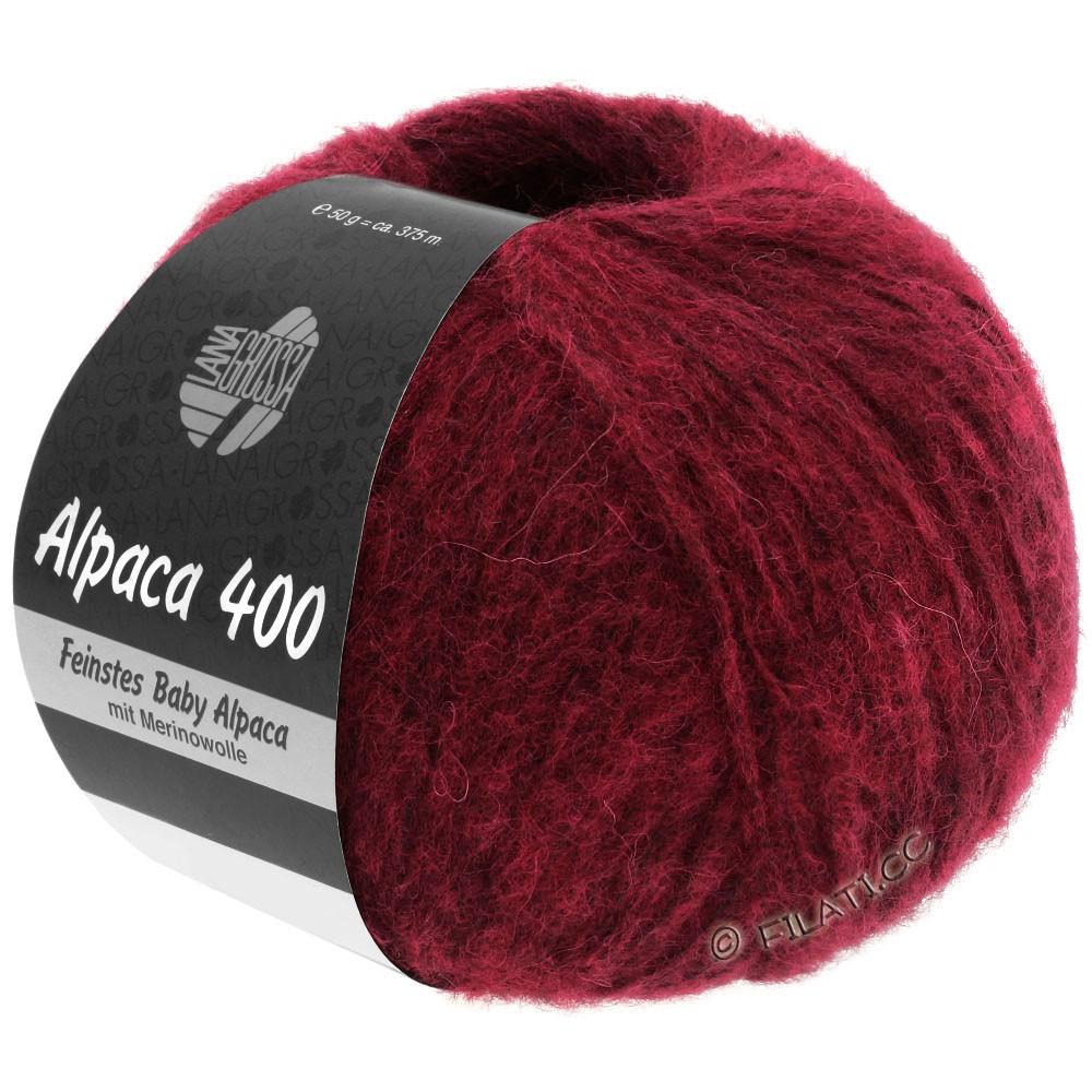 Lana Grossa ALPACA 400 | 09-красное вино