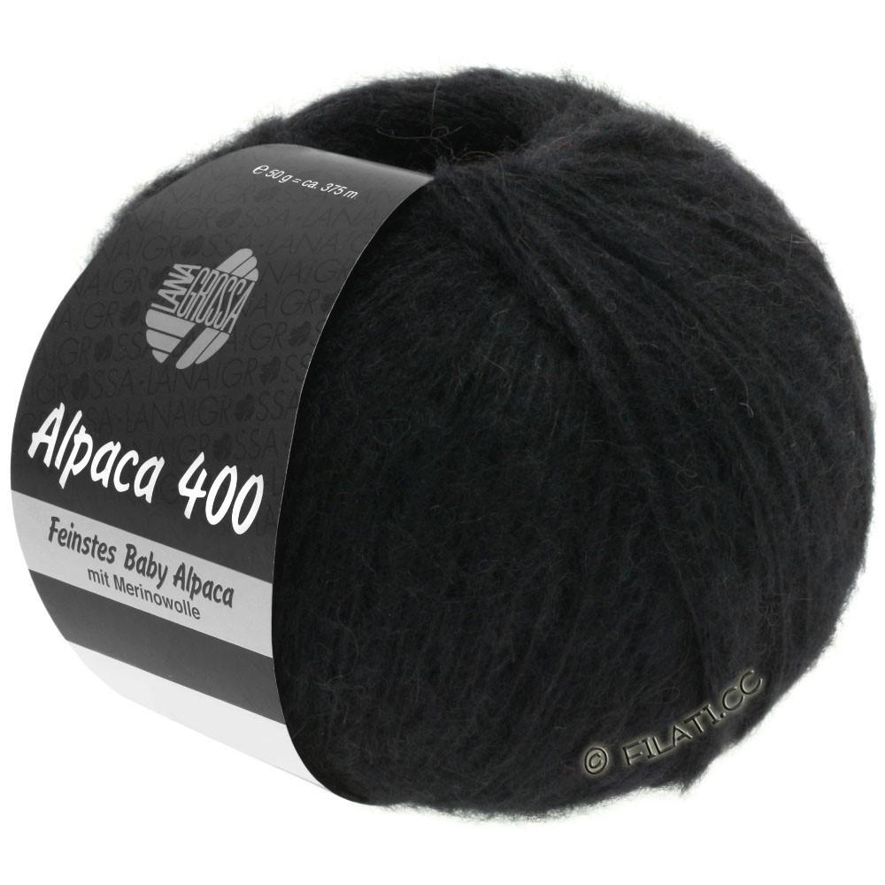 Lana Grossa ALPACA 400 | 12-чёрный