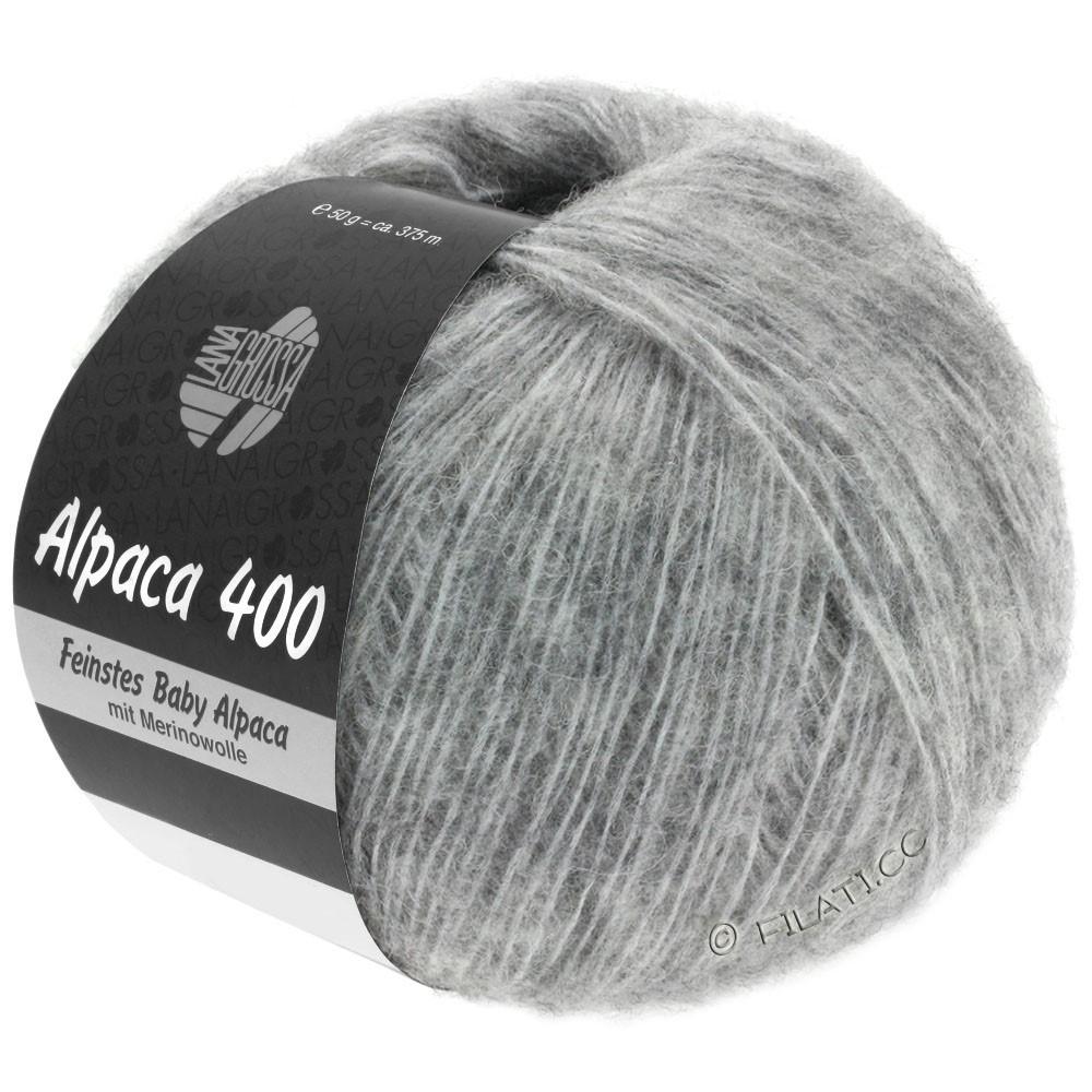 Lana Grossa ALPACA 400 | 14-светло-серый