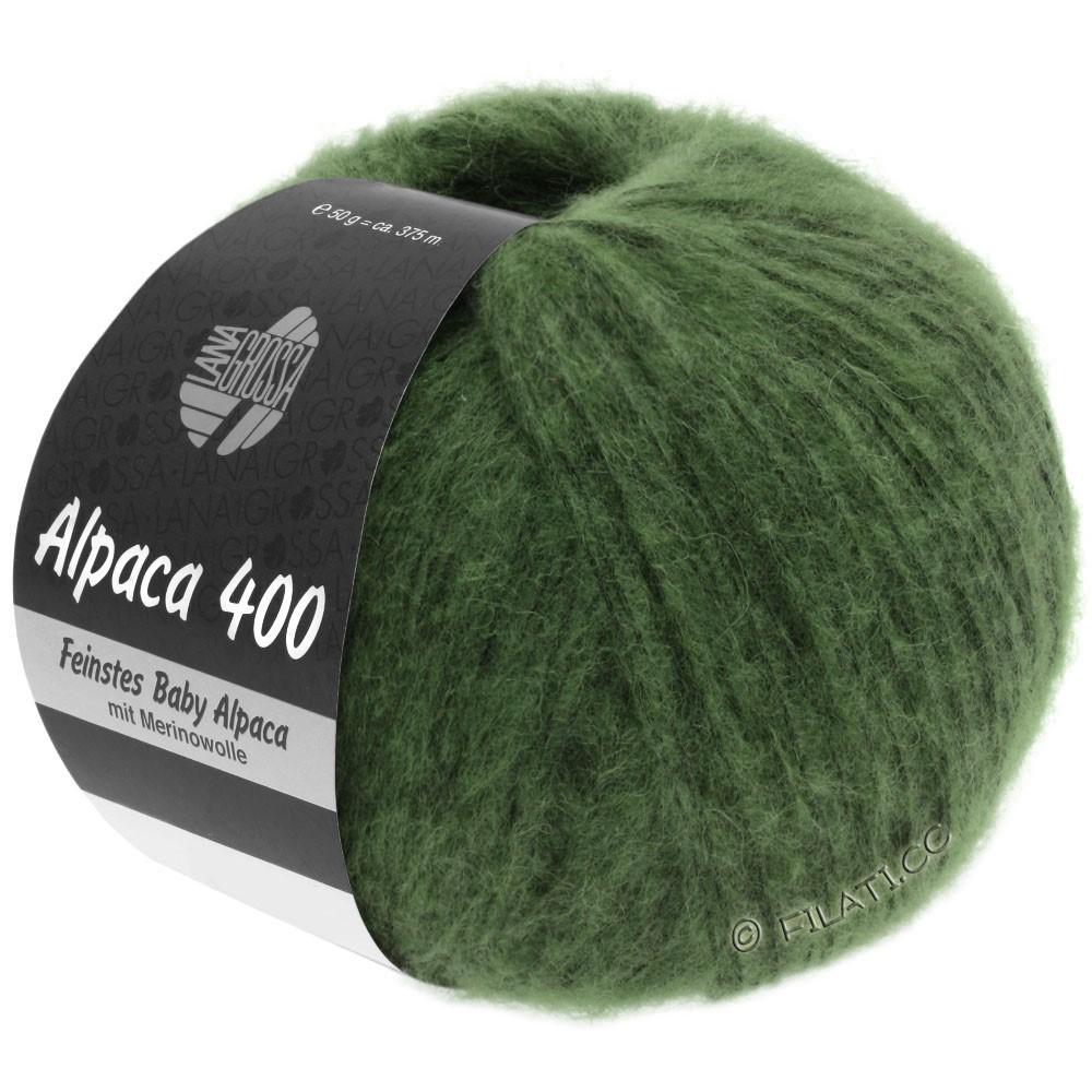 Lana Grossa ALPACA 400 | 19-тёмно-зелёный