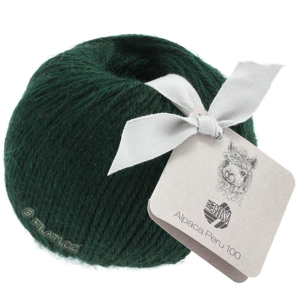 Lana Grossa ALPACA PERU 100 | 115-блекло-зеленый