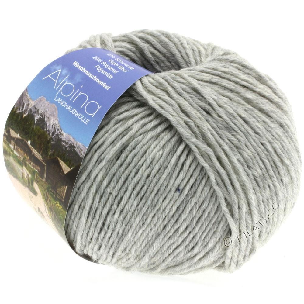 Lana Grossa ALPINA Landhauswolle | 04-серебристо-серый