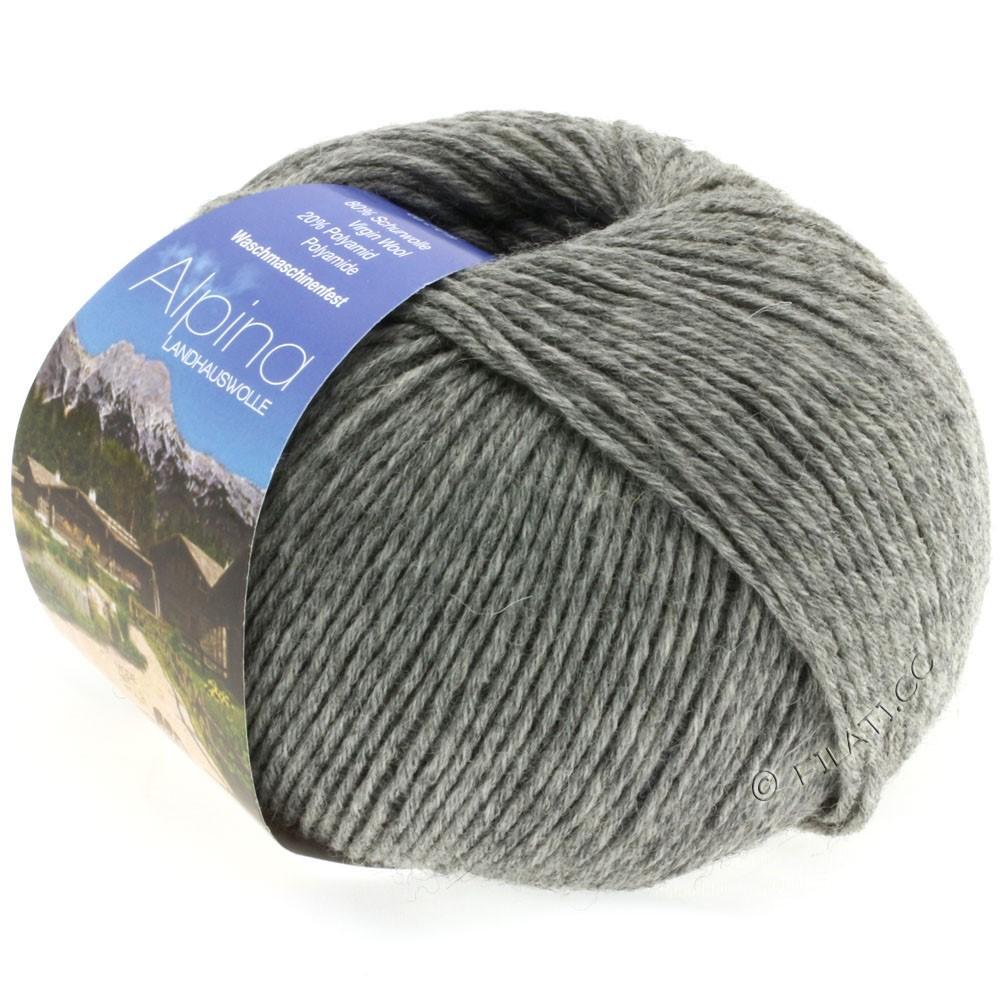 Lana Grossa ALPINA Landhauswolle | 05-серый меланжевый