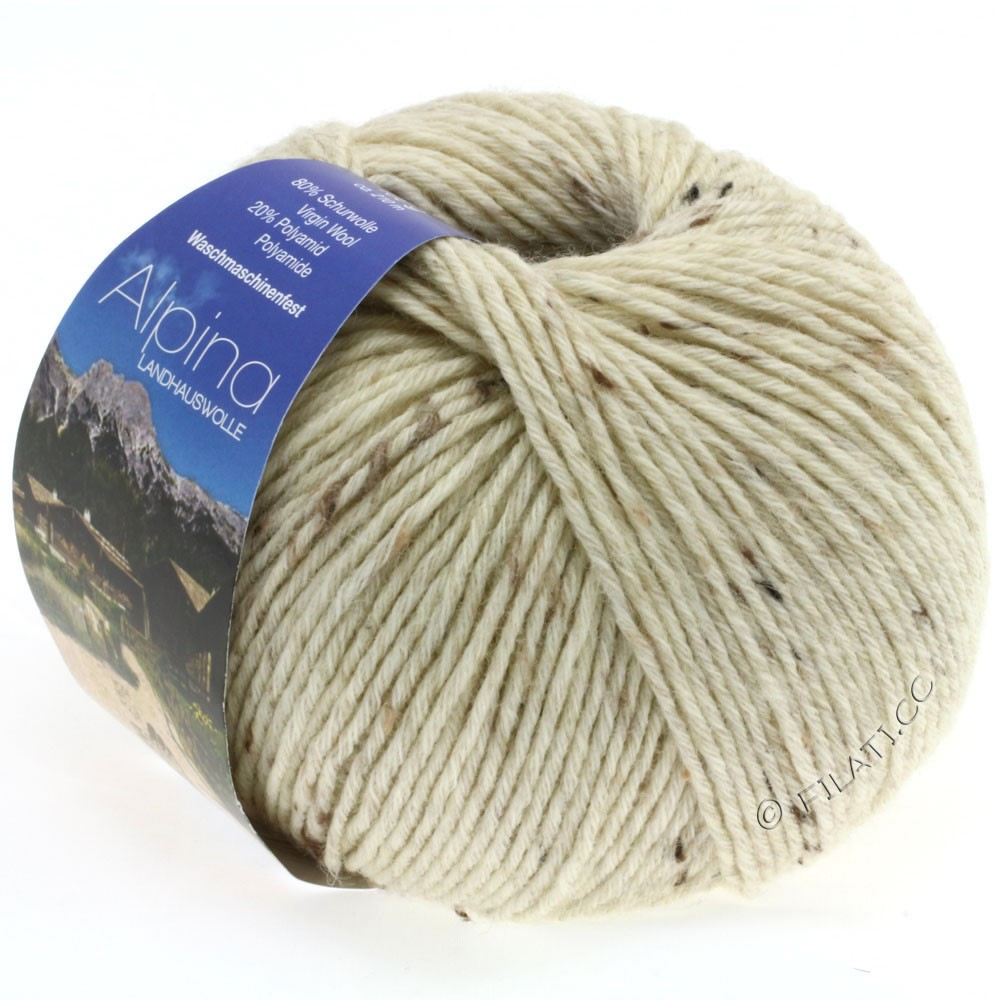 Lana Grossa ALPINA Landhauswolle | 10-натуральный меланжевый