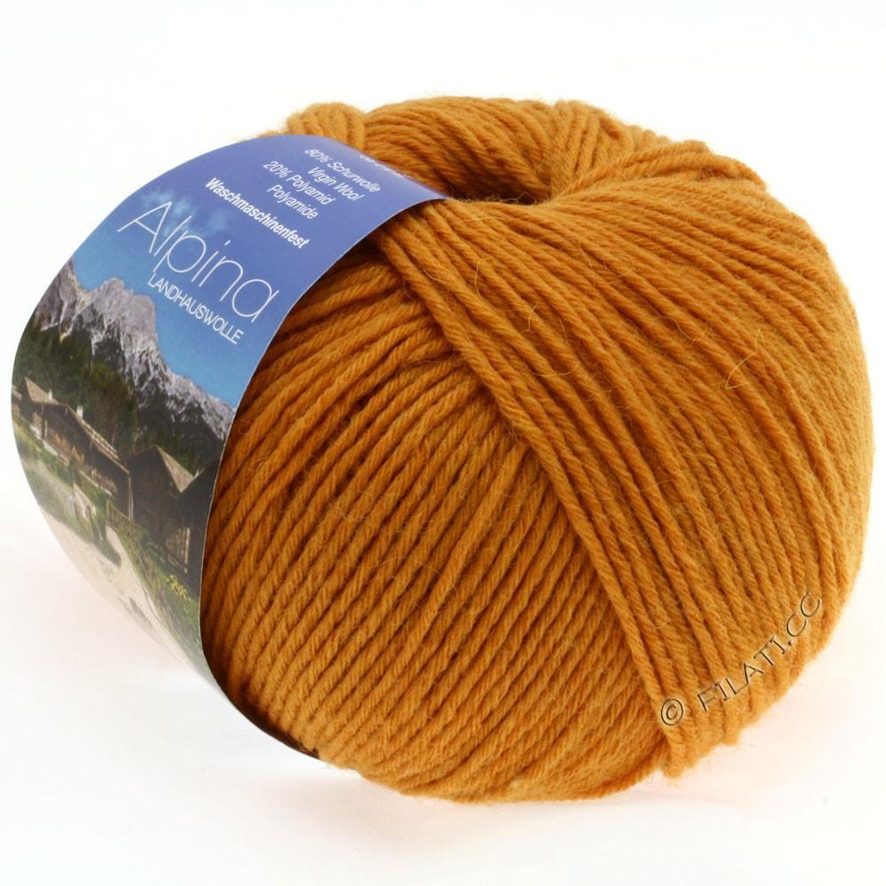 Lana Grossa ALPINA Landhauswolle | 19-желтый шафран