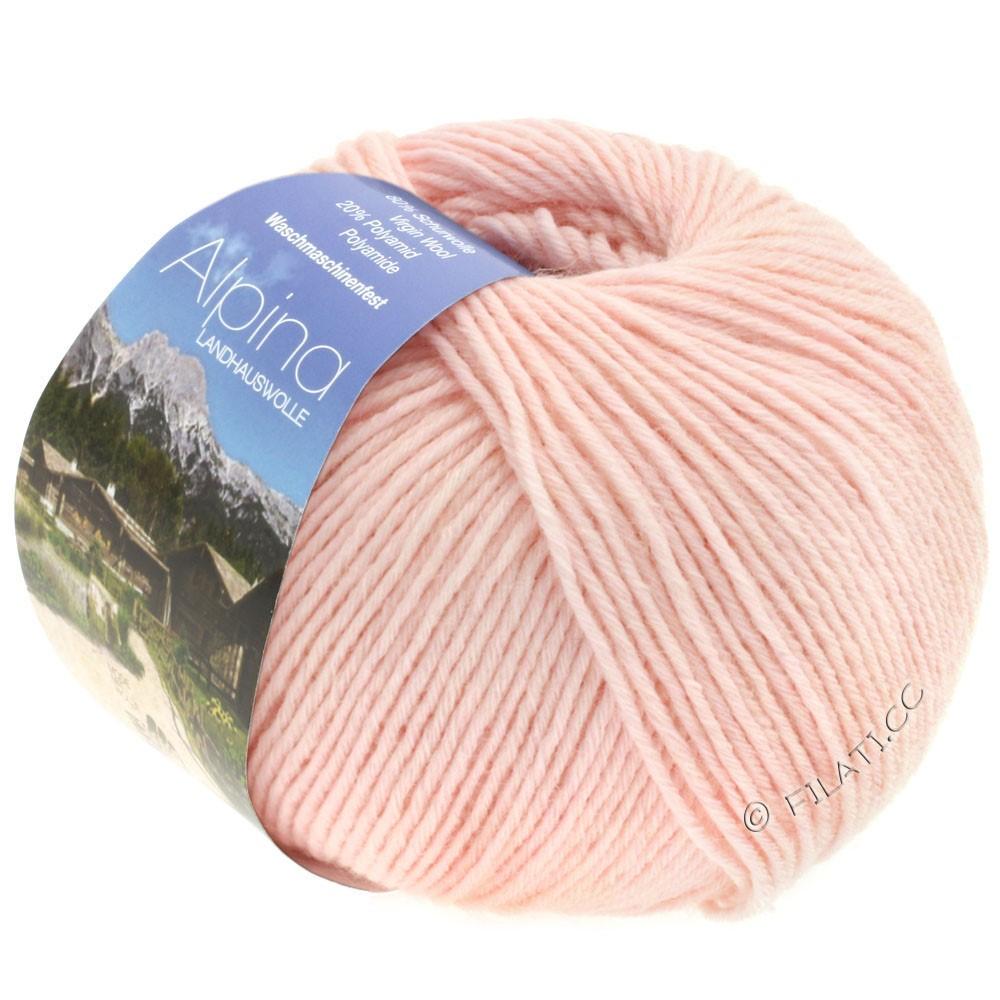 Lana Grossa ALPINA Landhauswolle | 27-мягко-розовый