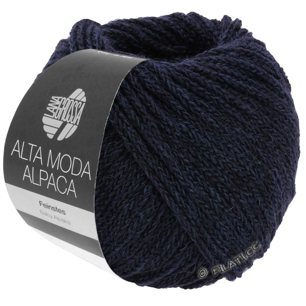 Lana Grossa ALTA MODA ALPACA | 05-тёмно-синий