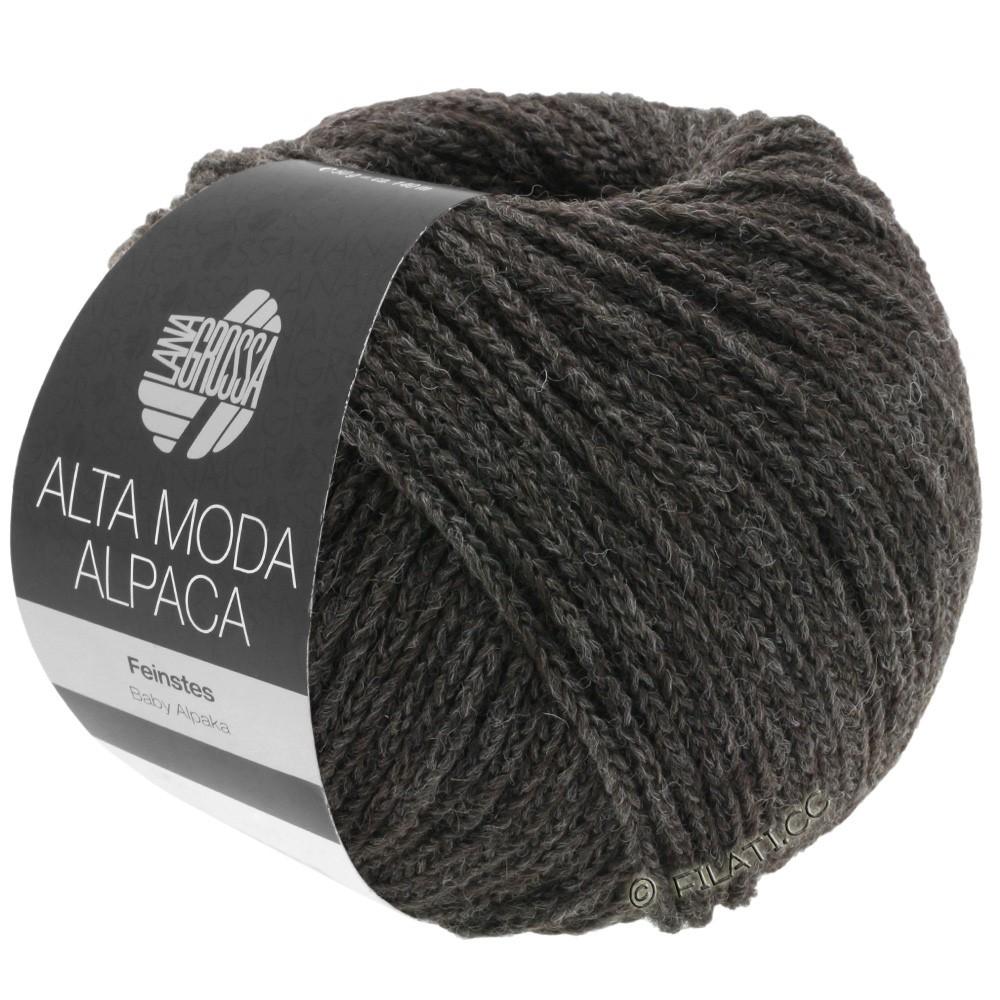 Lana Grossa ALTA MODA ALPACA | 10-кофе мокко меланжевый