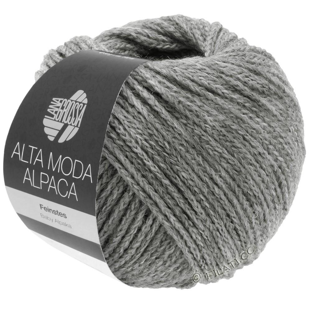 Lana Grossa ALTA MODA ALPACA | 12-светло-серый меланжевый