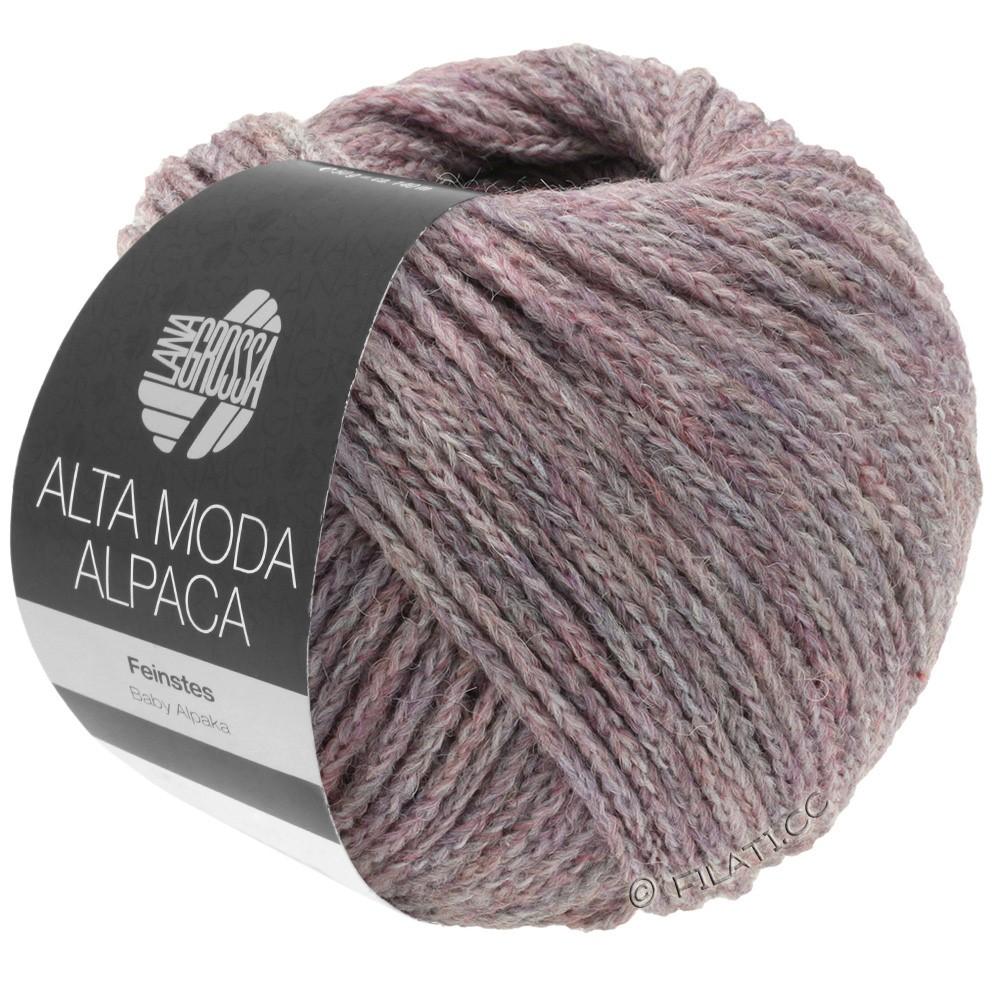 Lana Grossa ALTA MODA ALPACA | 44-сирень меланжевый