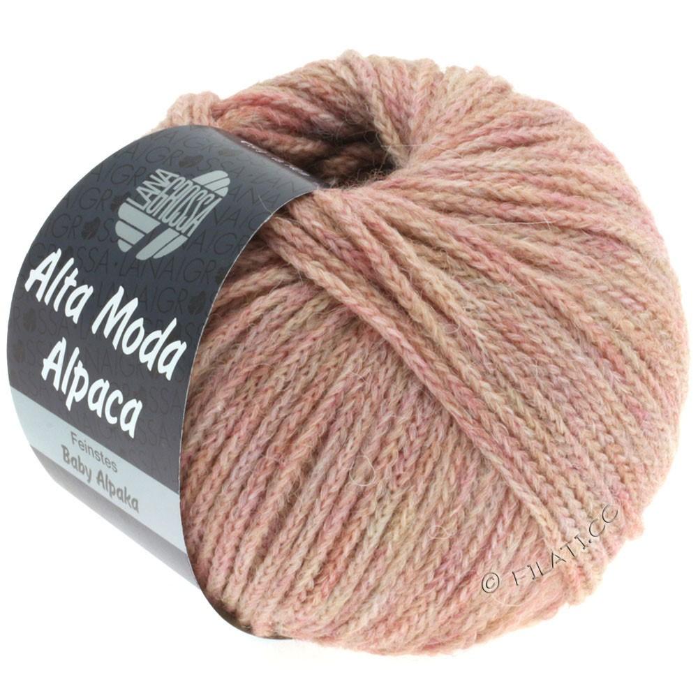 Lana Grossa ALTA MODA ALPACA | 45-розовый меланжевый