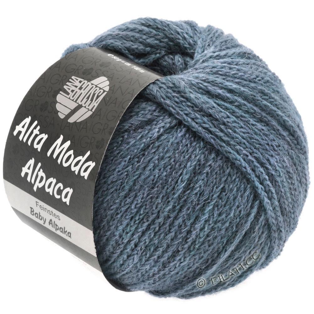 Lana Grossa ALTA MODA ALPACA | 53-джинс меланжевый