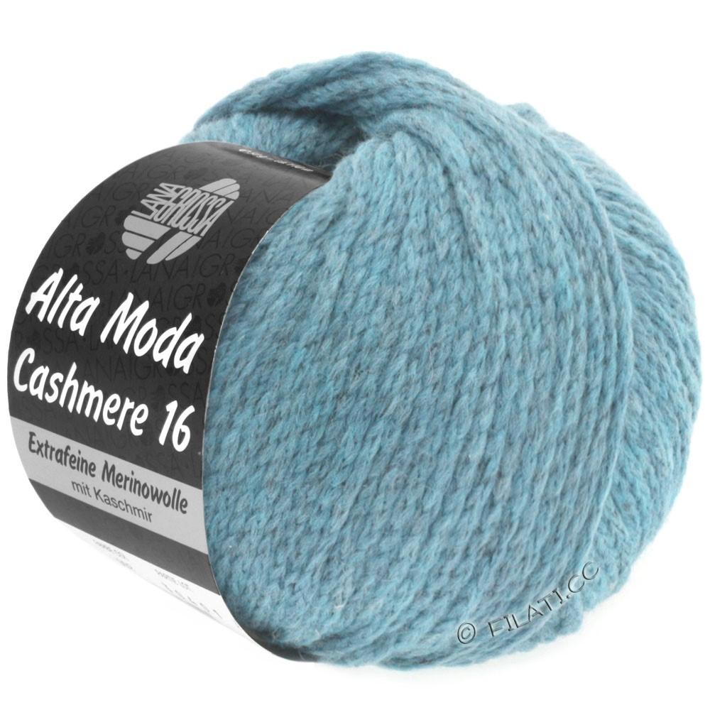 Lana Grossa ALTA MODA CASHMERE 16 Uni/Degradé | 018-светло-голубой