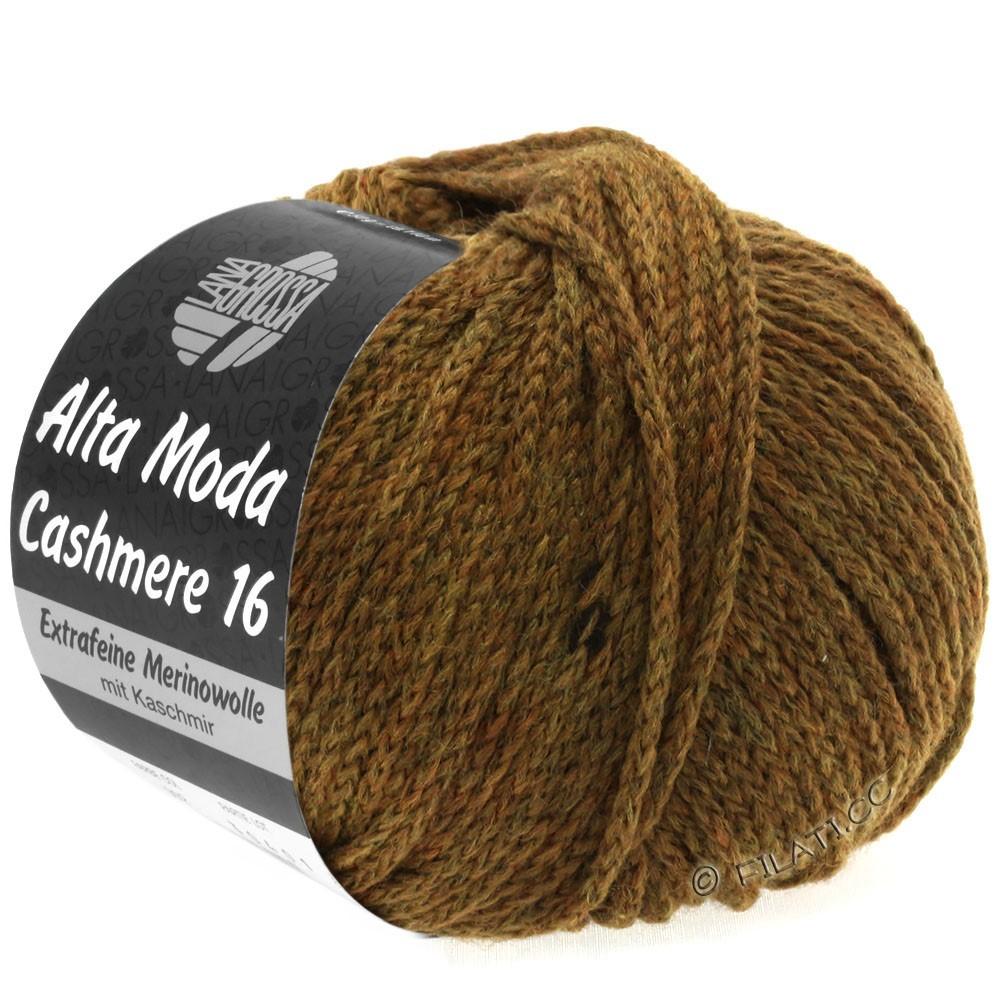 Lana Grossa ALTA MODA CASHMERE 16 | 026-горчично-коричневый