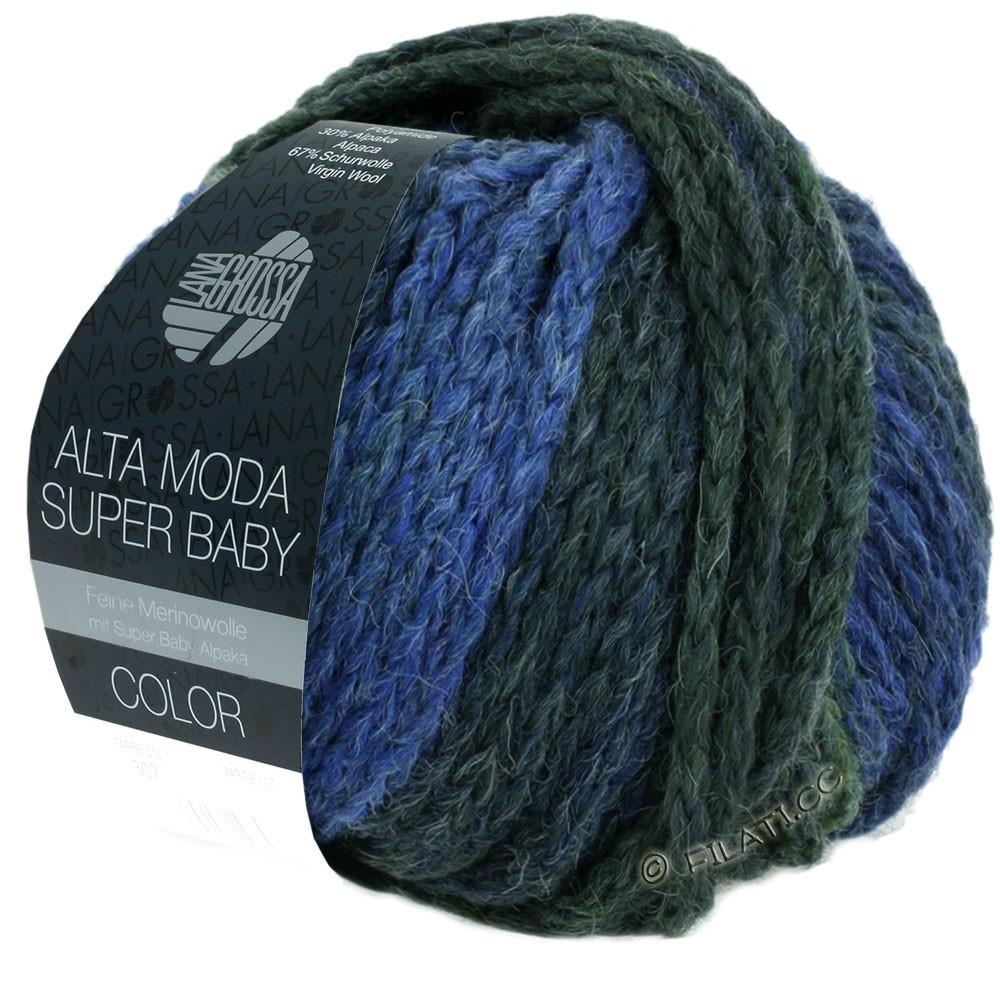 Lana Grossa ALTA MODA SUPER BABY  Color | 303-светло-голубой/синий/серо-голубой