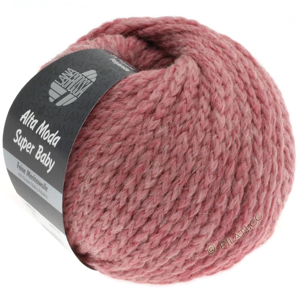 Lana Grossa ALTA MODA SUPER BABY Jaspè | 023-сиренево-розовый