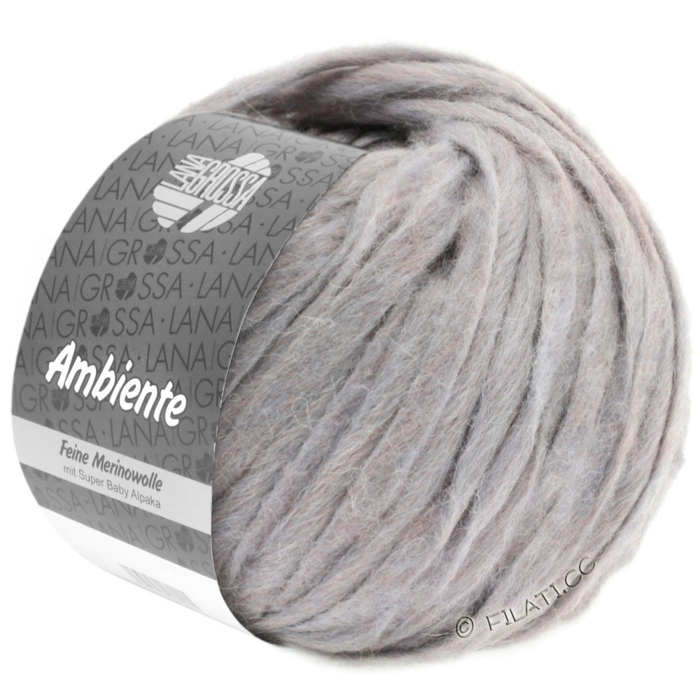 Lana Grossa AMBIENTE | 11-сиренево-серый