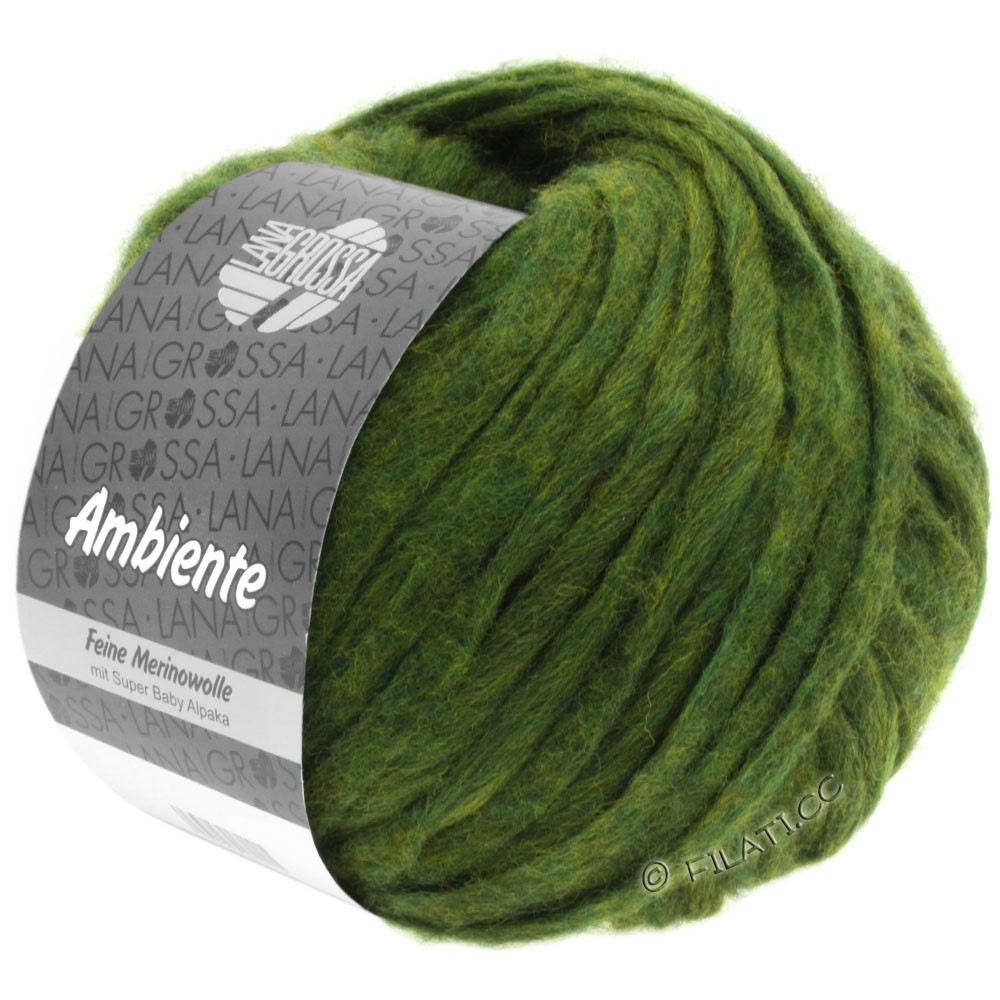 Lana Grossa AMBIENTE | 12-оливковый
