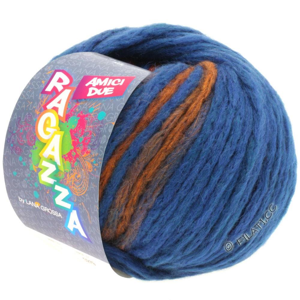 Lana Grossa AMICI DUE (Ragazza) | 103-синий/медь