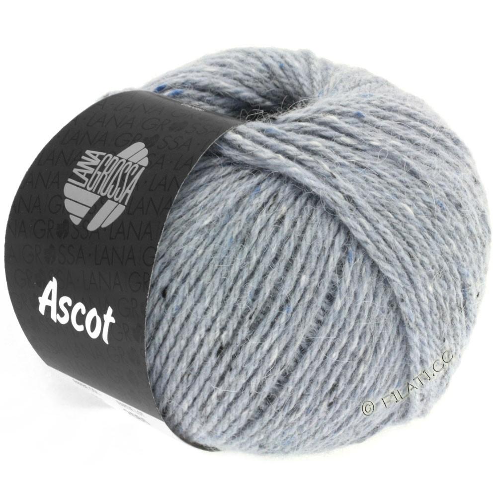Lana Grossa ASCOT | 02-серо-синий меланжевый