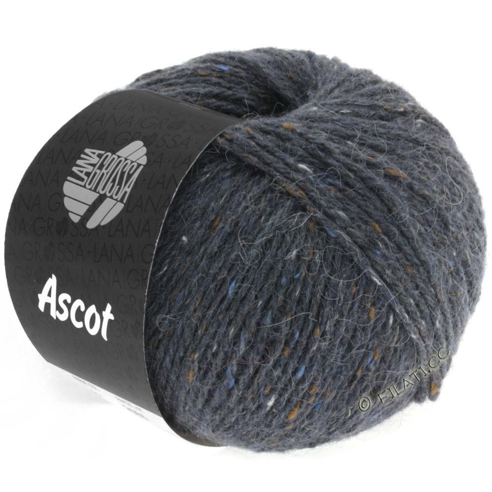 Lana Grossa ASCOT | 07-тёмно-серый меланжевый