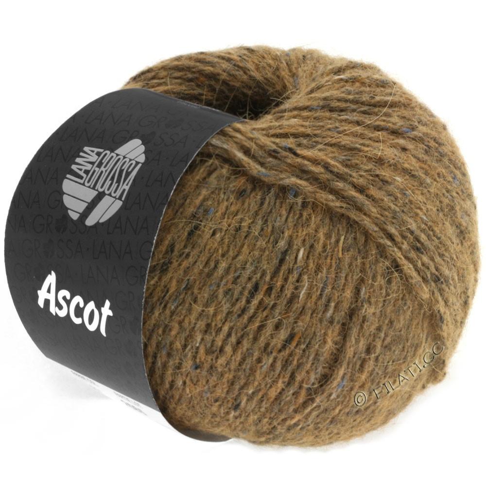 Lana Grossa ASCOT   08-коричневый смешанный