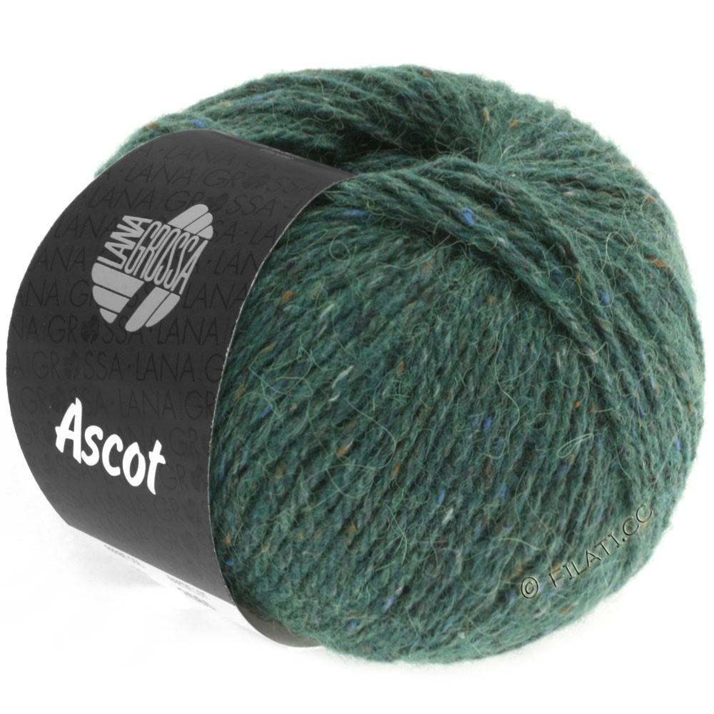 Lana Grossa ASCOT   12-темно-зеленый смешанный