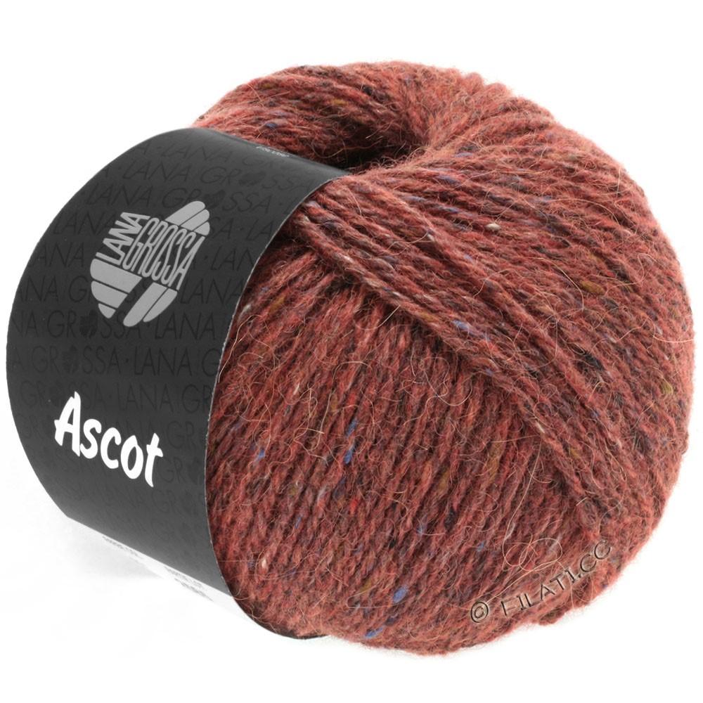Lana Grossa ASCOT | 18-коричневый красный меланжевый