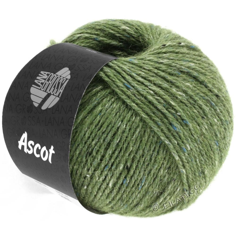Lana Grossa ASCOT | 21-зелёный меланжевый