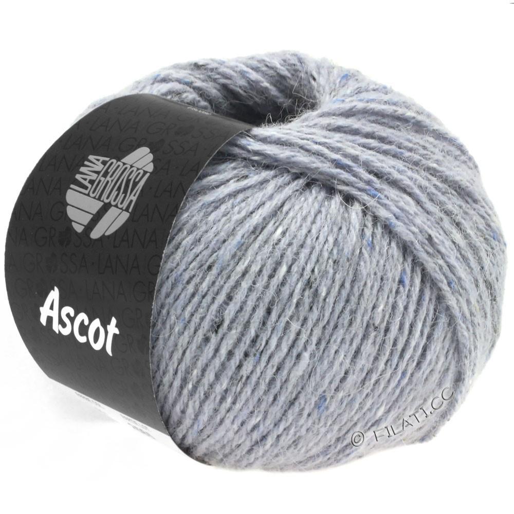 Lana Grossa ASCOT | 22-сиренево-серый меланжевый