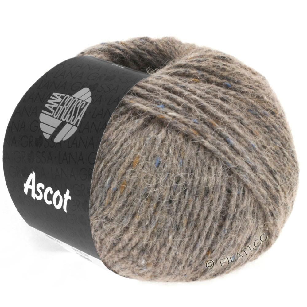 Lana Grossa ASCOT | 23-серо-коричневый меланжевый