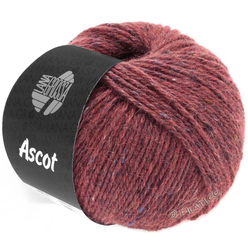 Lana Grossa ASCOT | 26-бордо меланжевый
