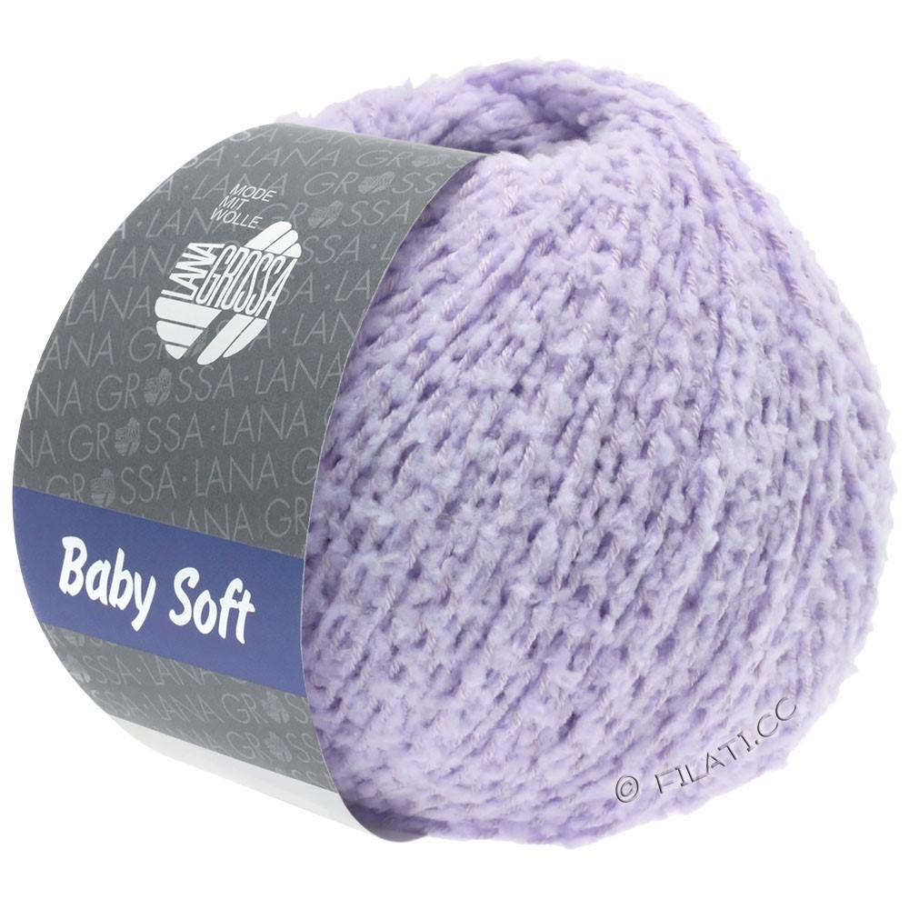 Lana Grossa BABY SOFT | 07-мягко-фиолетовый